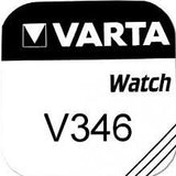 Varta Silver Oxide 346 Watch Battery - Pack of 1