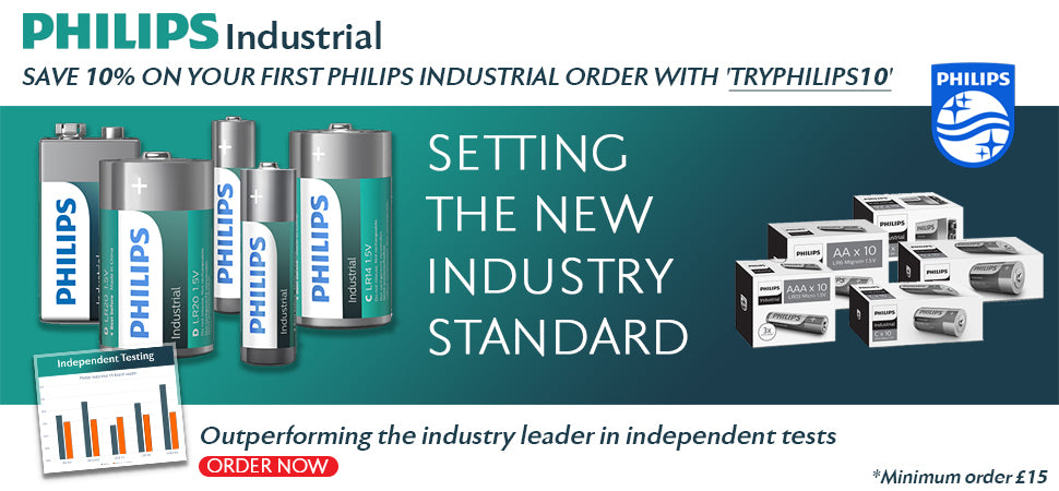 Philips Industrial Batteries