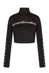 Heartbreaker Crop Polo Neck