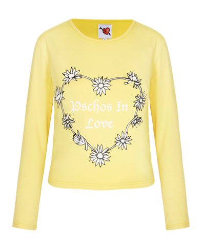 Psychos In Love Long Sleeve Top