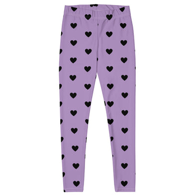 Purple Heart Leggings