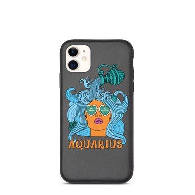 Aquarius Biodegradable phone case
