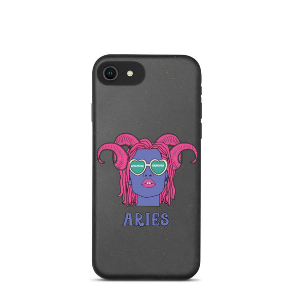 Aries Biodegradable phone case