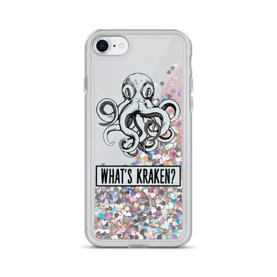 What's Kraken Liquid Glitter Phone Case