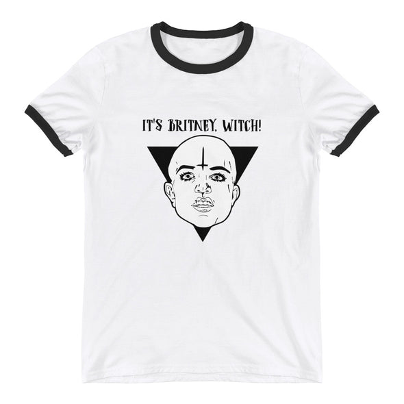 It's Britney Witch Ringer T-Shirt