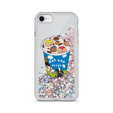 Dat Ass Dough Liquid Glitter Phone Case