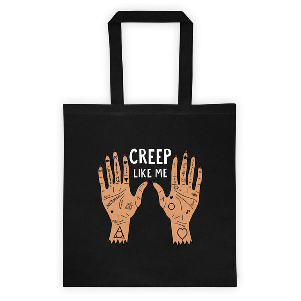 Creep Like Me Tote bag