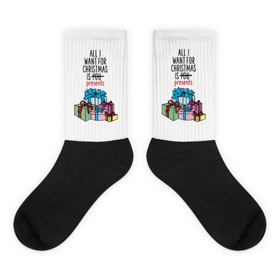 All I Want For Christmas Socks