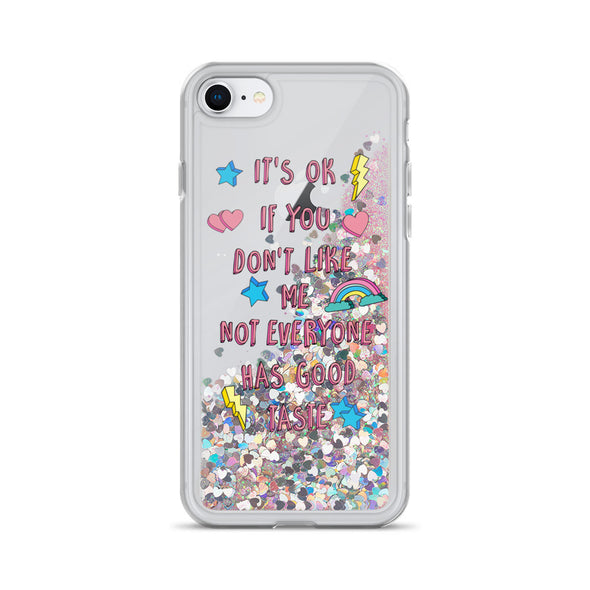 Good Taste Liquid Glitter Phone Case
