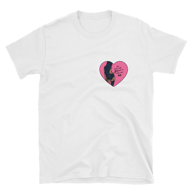 My Heart Says Yes But My Daddy Says No Unisex T-Shirt
