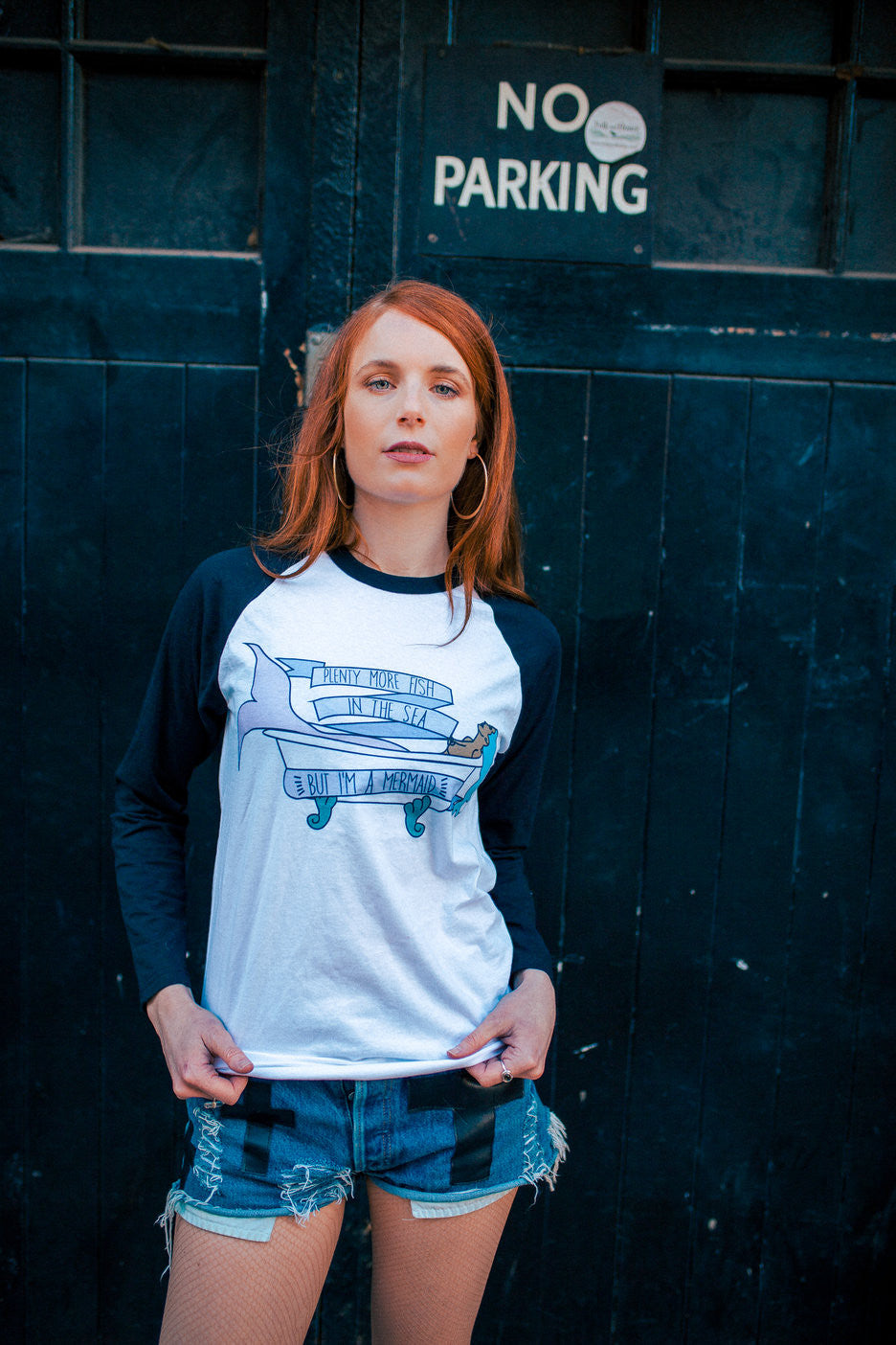 Plenty More Fish In The Sea 3/4 Length Raglan Unisex Shirt