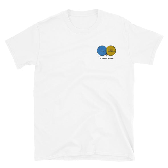 Not Responding Embroidered Unisex T-Shirt