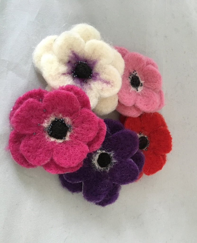 2d Needle Felting Basic Instructions - Flowers, Butterflies, Bunting, Cards, Pictures etc
