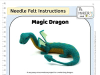 Magic Dragon Needle Felt Pack