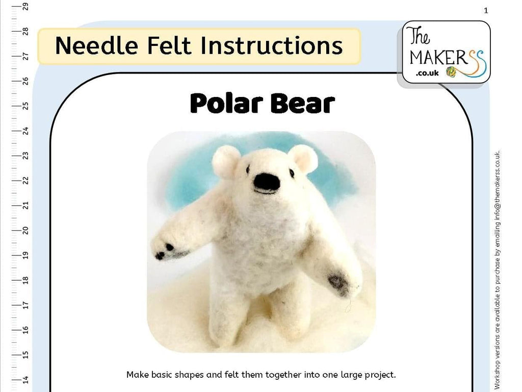 Polar Bear Instructions PDF