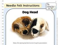 Dog Head Instructions PDF
