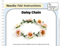 Daisy Chain Needle Felt Pack