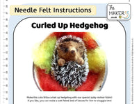 Curled Up Hedgehog Instructions PDF