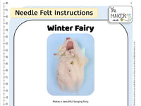 Winter Fairy Instructions PDF