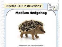 Medium Hedgehog Instructions PDF