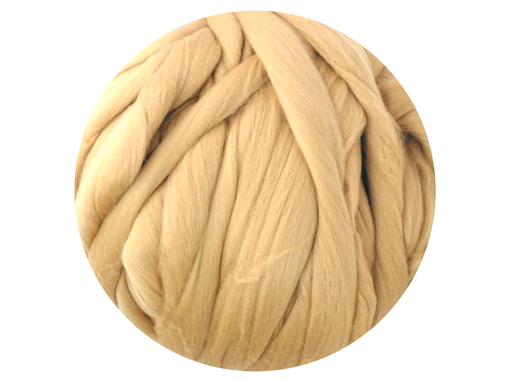 Beige Tops - dyed South American Merino