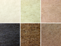 Cappuccino Mixed Bag Natural Wool Batts 120g