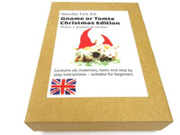 Gnome or Tomte Kit Christmas Edition - makes 2 gnomes or a gnome and a Father Christmas