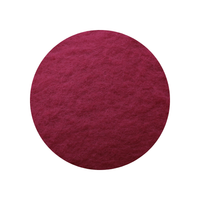 Claret Red Merino Batts