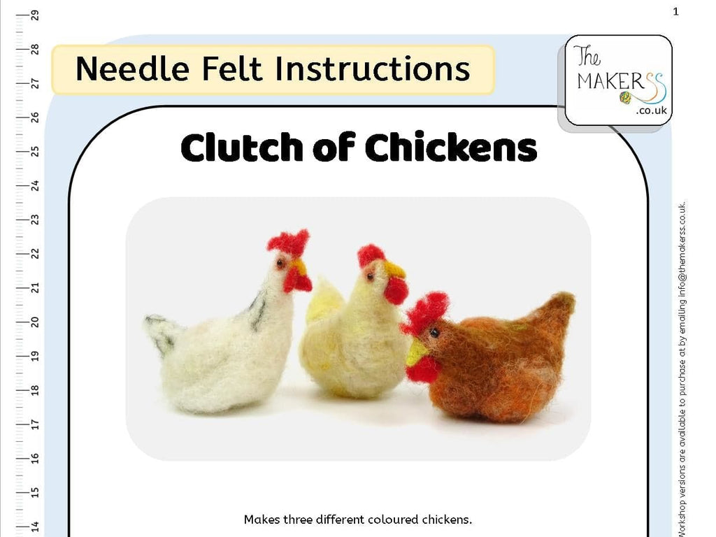 Clutch of Chickens Instructions PDF
