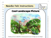 Cool Landscape Picture Instructions PDF