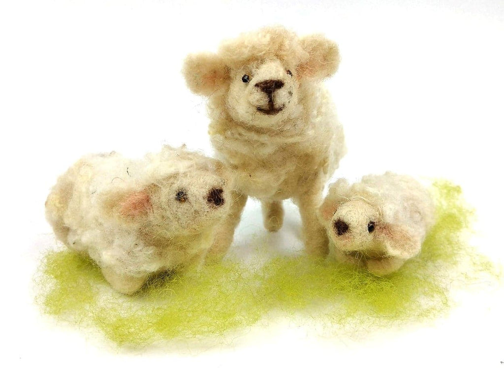 Sheep and Lambs Kit - makes 1 sheep and 2 lambs