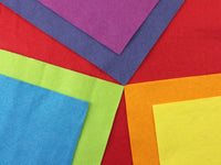 Felt Sheet Packs - Rainbow or Muted x 7 colours