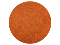 Fox Orange Variegated dyed New Zealand & natural Stone Sheep carded wool batts - various weights