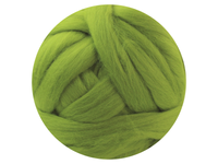 Green Tops - dyed South American Merino - various weights