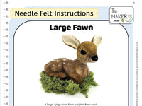 Large Fawn Instructions PDF