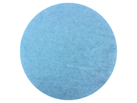 Light Blue - dyed New Zealand Merino carded wool batts - various weights