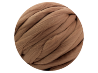 Brown Tops - dyed South American Merino