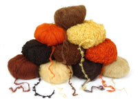 Mohair Yarn for Doll Hair - Straight and Bouclé (Curly)