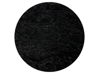 Stone Sheep Lamb 'Natural' Black - dyed & natural mixed carded wool batts - various weights