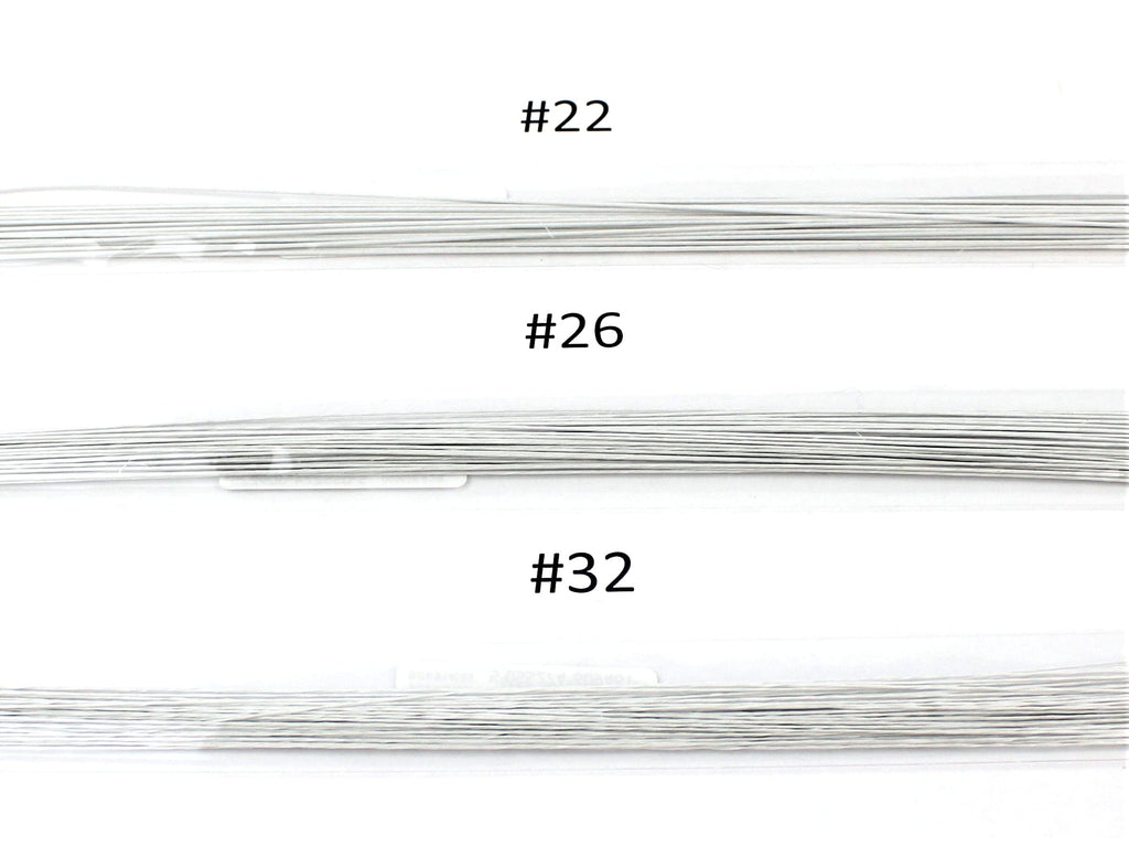 Paper Covered Steel Wire Packs - various gauges #22, #26, #32