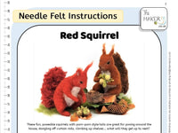 Red Squirrel Instructions PDF