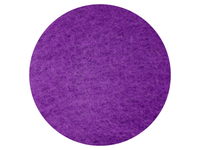 Rich Purple - dyed Mountain Sheep carded wool batts - various weights