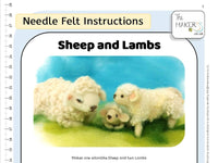 Sheep and Lambs Instructions PDF