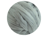 Silver Grey Tops - dyed South American Merino - various weights