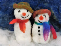 Snowman Kit - makes 2 jolly snowmen with accessories