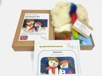 Snowman Kit - makes 2 characterful snowmen with accessories