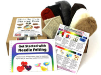 Needle Felt Starter Box - Natural Mix