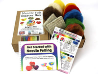 Needle Felt Starter Box - Brights Mix