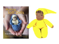 Soft Doll Materials Pack - materials to make the Hannes/Hannah doll from Making Soft Dolls Book