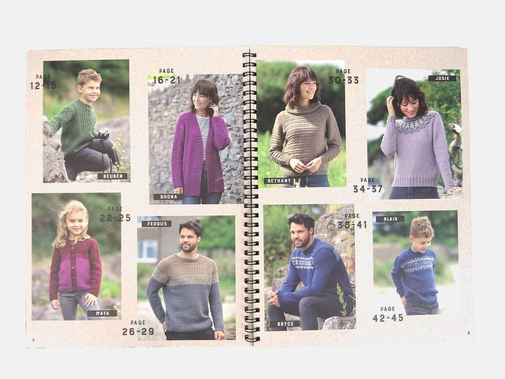 Last few! West Yorkshire Spinners Knitting Pattern Books - 2 options
